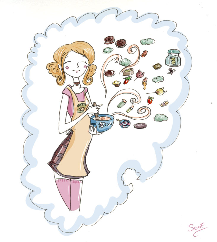 illustration blog de gourmande