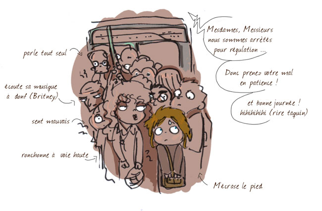 incident métro bd